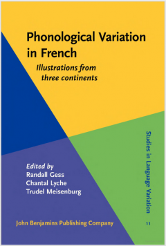 Phonological Variation in French - Book cover