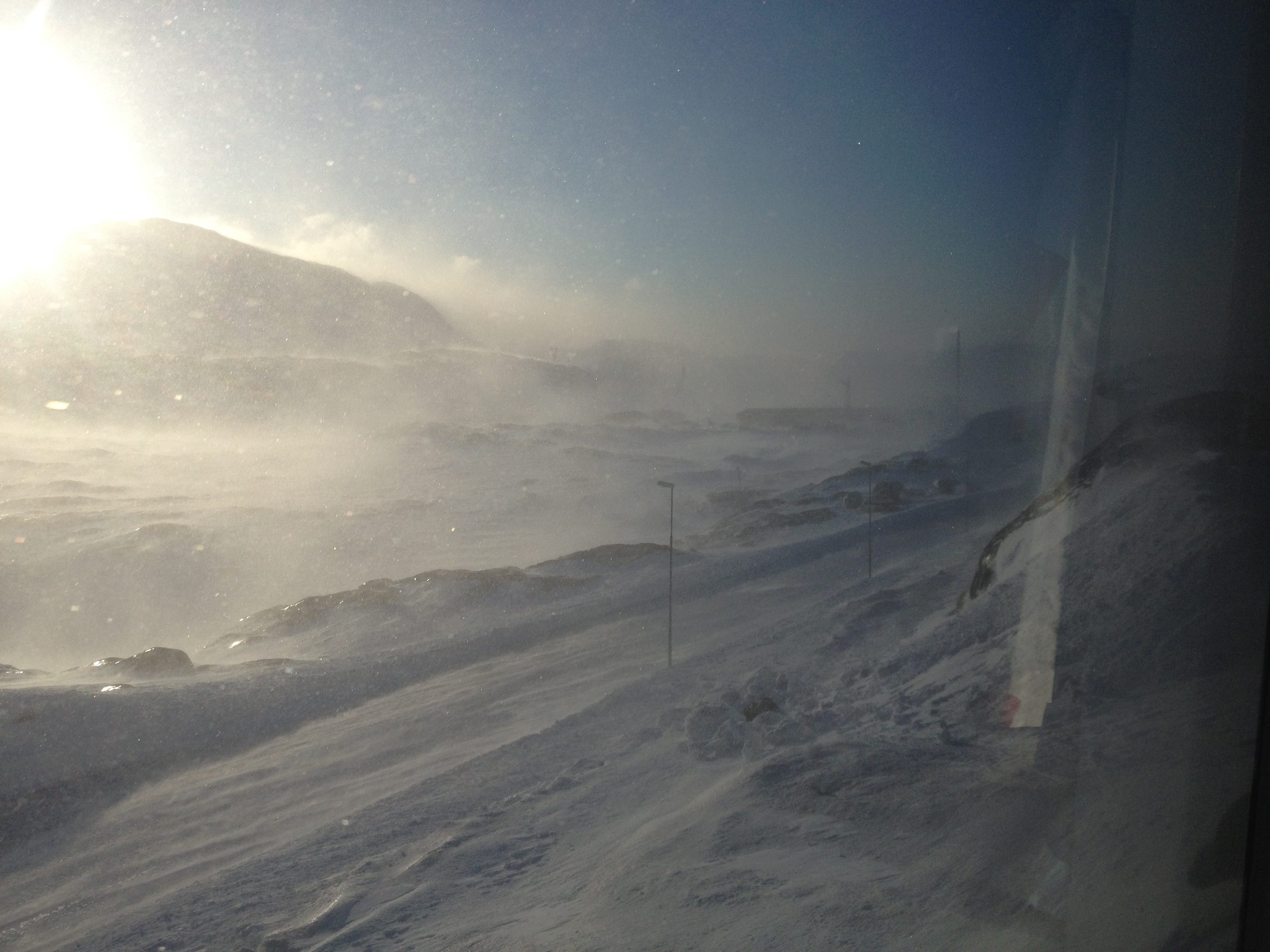 Greenland in February - Geography and Environmental Studies