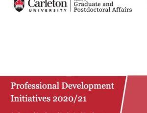 View Quicklink: New Professional Development Initiatives