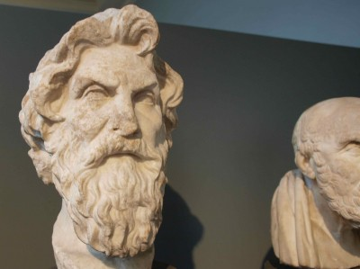 Antisthenes, founder of the Cynic school of philosophy. British Museum, London.