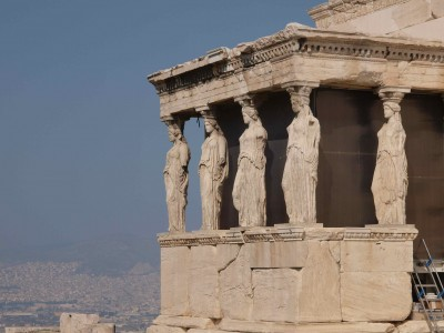 The Erechtheion. Acropolis, Athens.