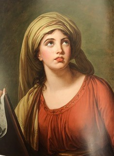 Life Study of Lady Hamilton Emma Hamilton as the Cumaean Sibyl by Elisabeth Louise Vigée Le Brun