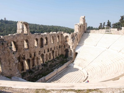 The Odeon of Herodes Atticus, slopes of the Acropolis, Athens, 161 C.E.