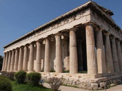 Temple of Hephaestus, Agora, Athens, 449 B.C.E.