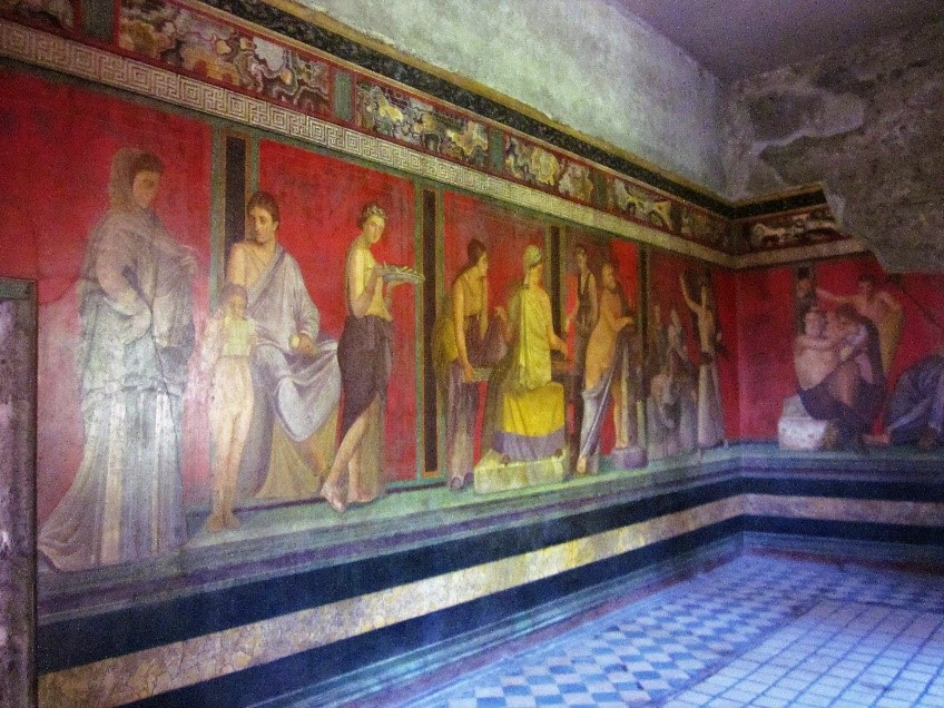 The Mystery Fresco from the Villa of the Mysteries, Pompeii