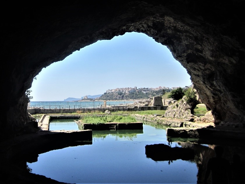 View from Tiberius' Grotto, Sperlonga