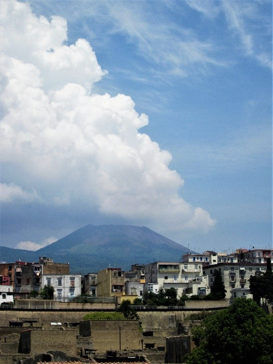 View of Mount Vesuvius, Herculaneum