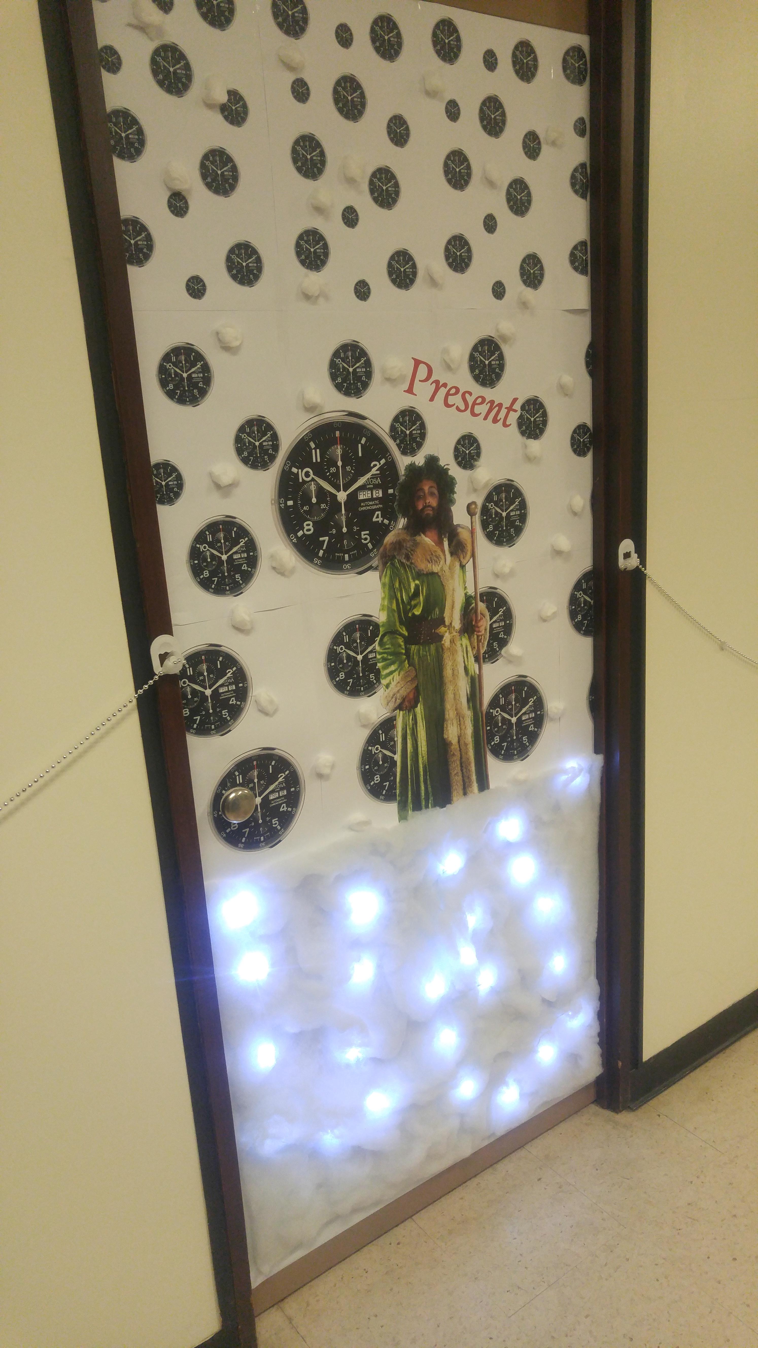 Festive Door Decorating Healthy Workplace