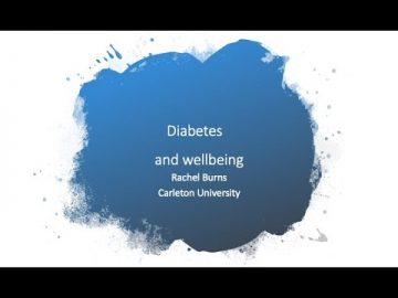 Thumbnail for: Diabetes and Wellbeing with Professor Rachel Burns
