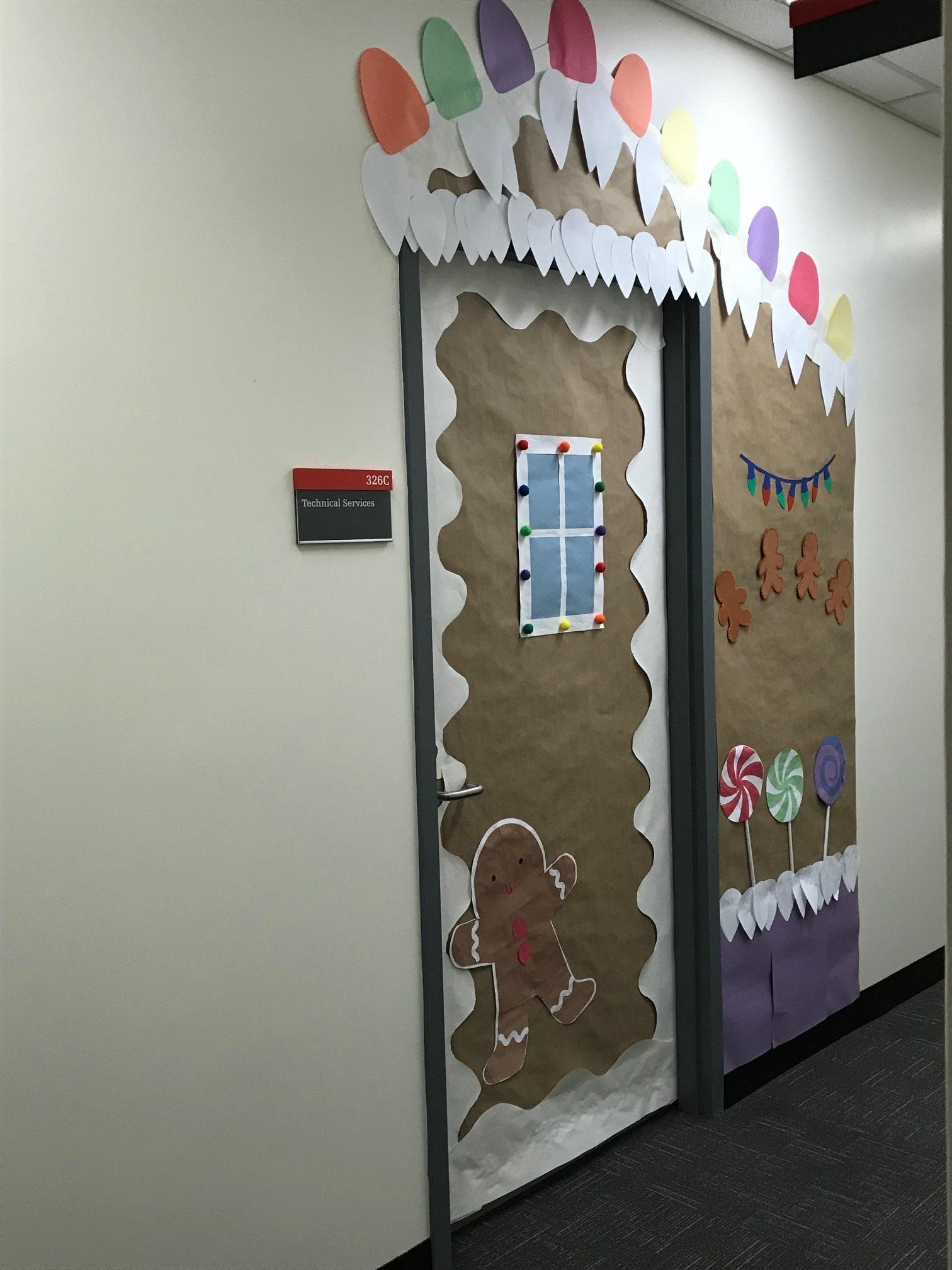 Festive Door Decorating Challenge Healthy Workplace