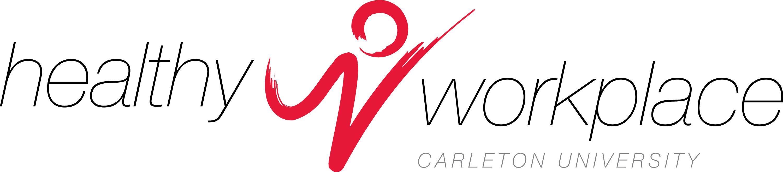 Healthy Workplace Carleton University logo