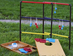 View Quicklink: Borrow Lawn Games to Play at Lunchtime
