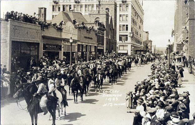 1923 Calgary Stampede parade