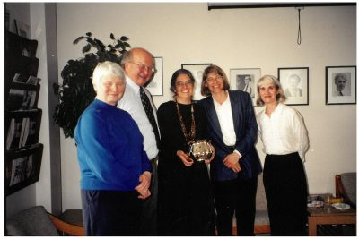 Alek Bennett, Carter Elwood, Kerry Abel, Susan Whitney, and Pamela Walker