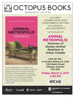 Animal Metropolis book launch poster