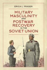 photo of book cover with two soldiers standing facing each other