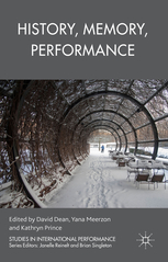 History, Memory, Performance book cover