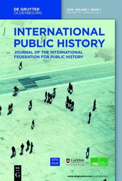 International Public History Journal Cover