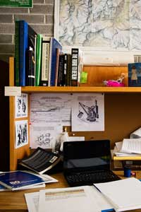 History Student Desk