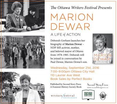 photos of Marion Dewar