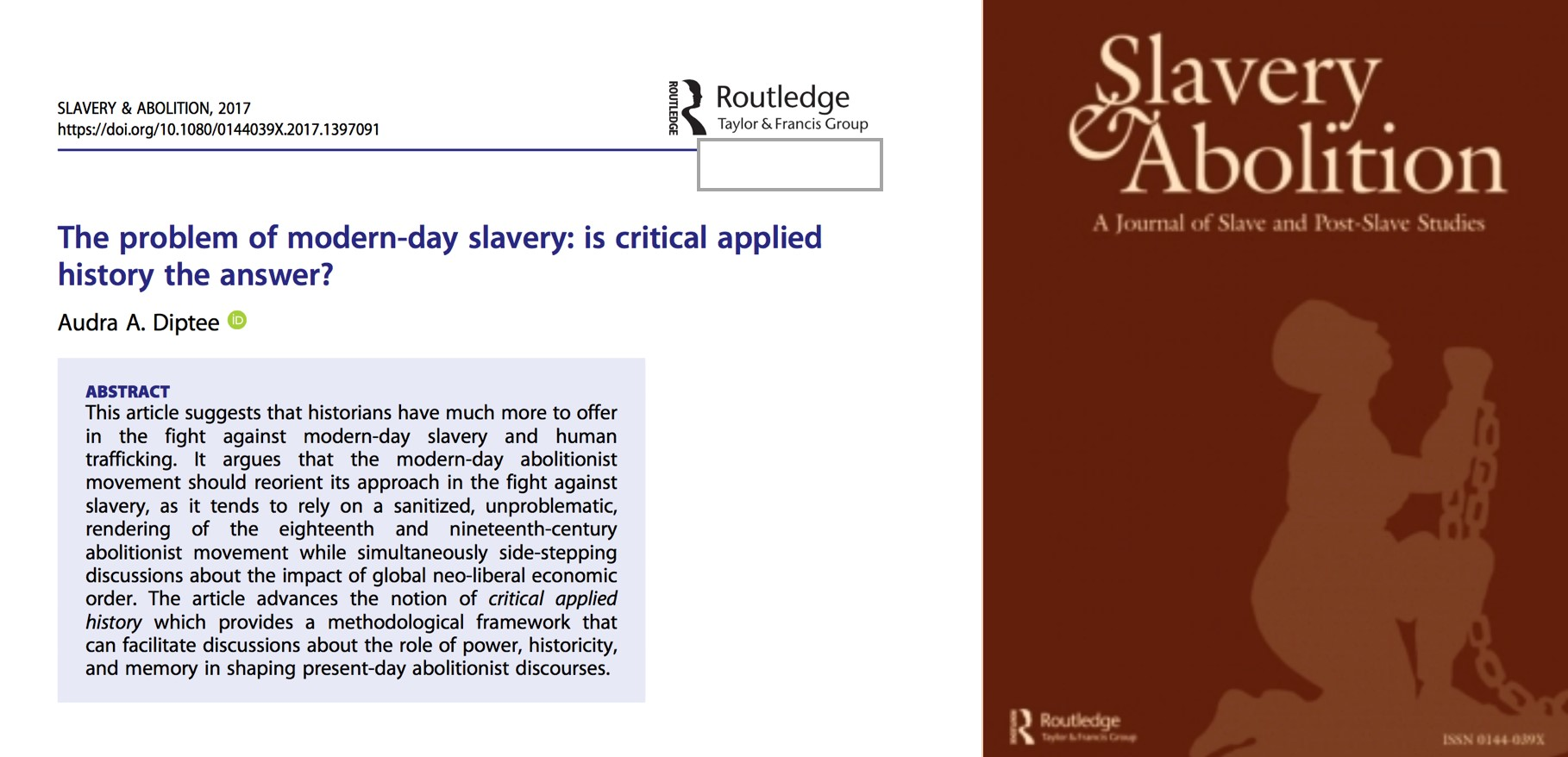 the debate against slavery in the eighteenth and ninetheenth century Springerlink search home the idea of race in the debate over the slave trade and slavery in the late eighteenth and early nineteenth century.