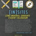 Underhill Graduate Student Colloquium Poster