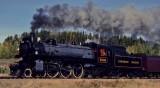 "Canadian Pacific steam locomotive ""1201"""
