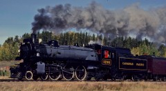 Canadian Pacific steam locomotive