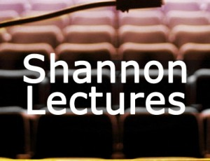 View Quicklink: Shannon Lecture Series 2017