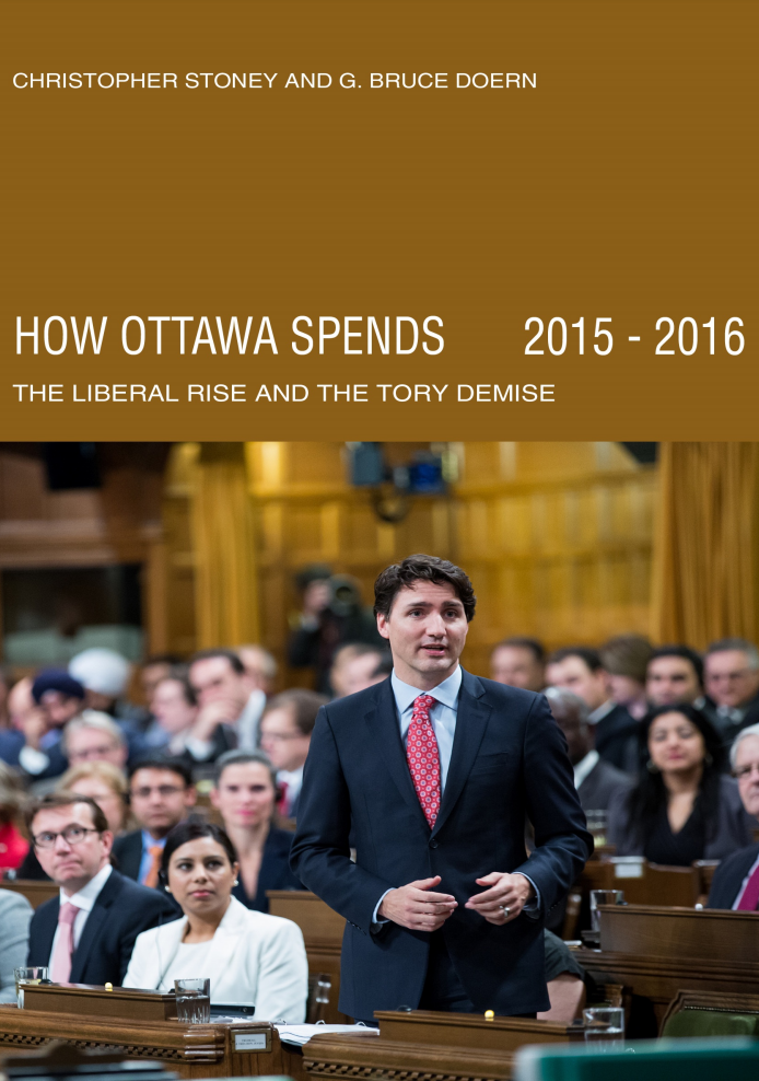 How Ottawa Spends, 2015-2016: The Liberal Rise and the Tory Demise
