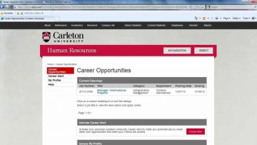 Thumbnail for: Career Alerts & RSS Feeds for Job Opportunities