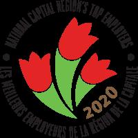 National Capital Region's Top Employers: 2020 Logo