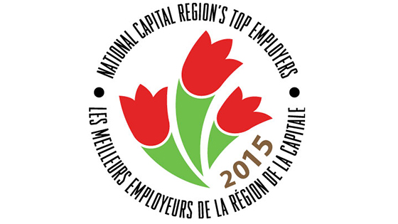 National Capital Region's Top Employers 2015 Badge