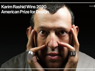 Photo for the news post: Karim Rashid wins 2020 American Prize for Design