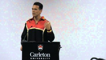 Thumbnail for: A Talk by Taiaiake Alfred: Research as Indigenous Resurgence