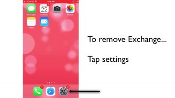 Thumbnail for: How to Add and Remove Exchange on an iPhone