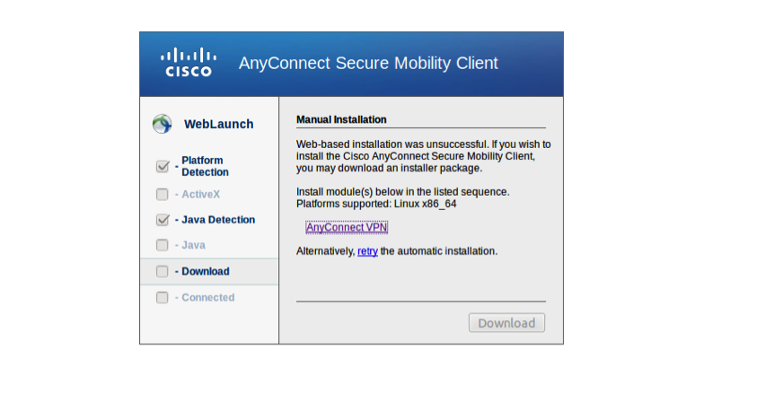 cisco anyconnect download