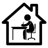 work-from-home icon