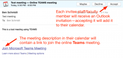 Sample email meeting invitation