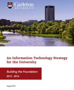 Cover of IT Strategy document