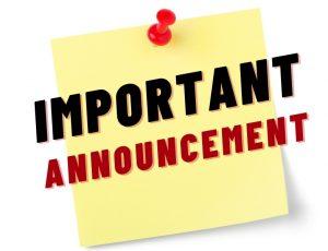 View Quicklink: ZC & CHES Announcement