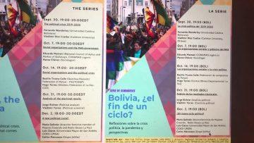 "Thumbnail for: Programa Completo ""Bolivia, Fin de un Ciclo?""/ Full Program ""Bolivia, the End of a Cycle?"""
