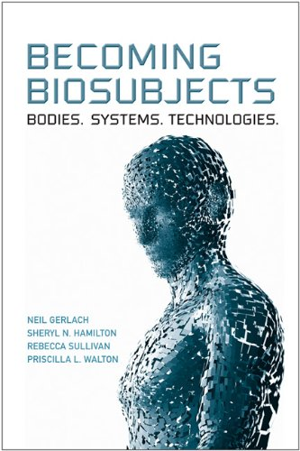 Book cover image_blue pixellated human form
