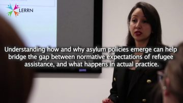 Thumbnail for: Dr. Ola El-Taliawi on bridging the gab between public policy and refugee studies