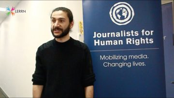 Thumbnail for: Zein Almoghraby on Journalists for Human Rights and LERRN