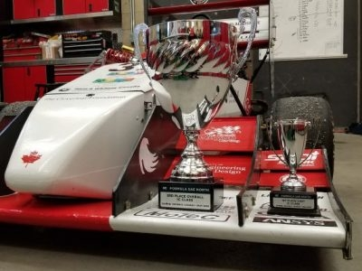 Photo for the news post: Formula SAE Places 3rd