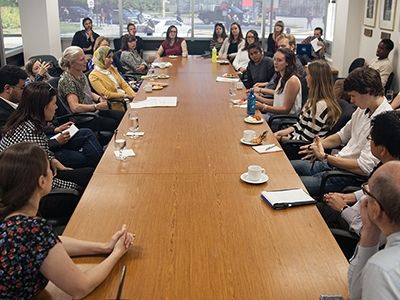 Photo for the news post: Environment Minister Meets with Carleton Engineering Students to Discuss Diversity