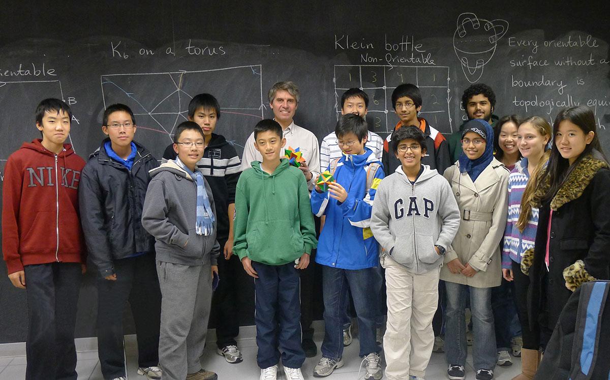 Math Enrichment Centre - School of Mathematics and Statistics
