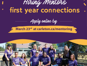 View Quicklink: Now Hiring: FYC Mentors!