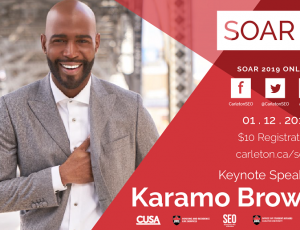 View Quicklink: Register for the SOAR Student Leadership Conference (with Keynote Karamo Brown!)